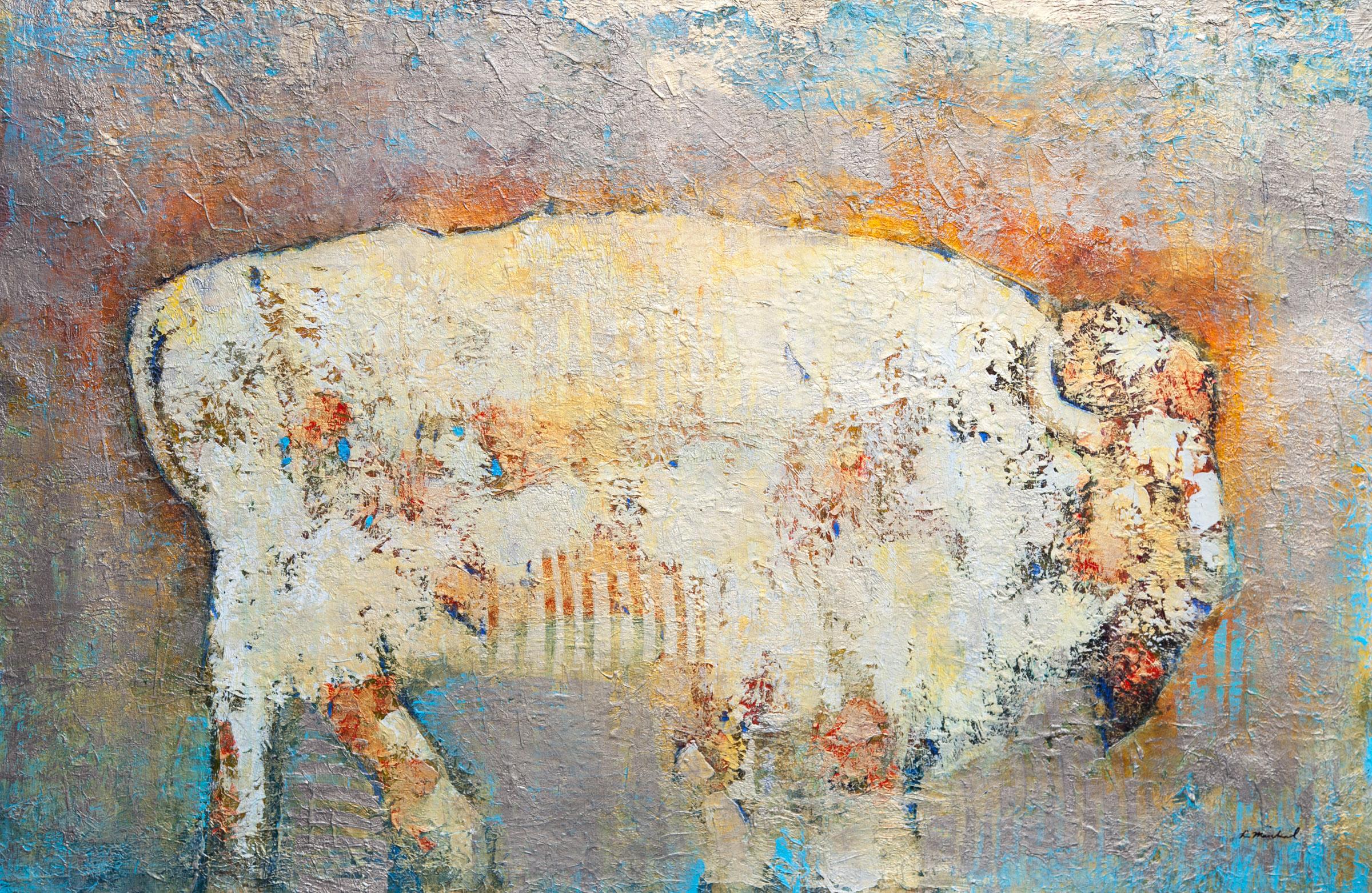 Lisa Macchiaroli - Spirit Buffalo 40x60